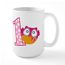 Cute Pink Owl Mug