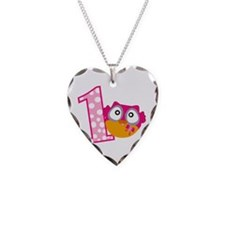 Cute Pink Owl Necklace