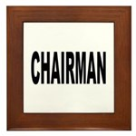 Chairman Framed Tile