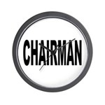 Chairman Wall Clock