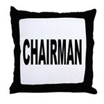 Chairman Throw Pillow