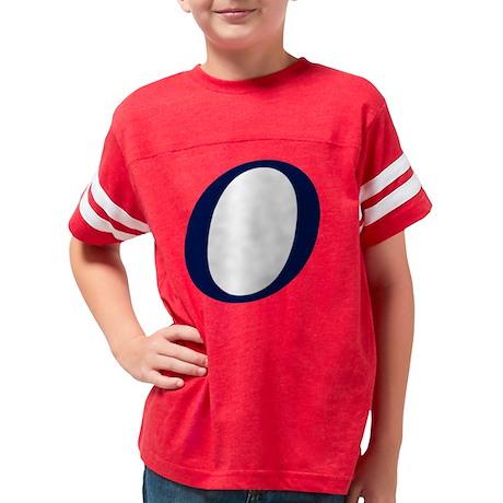 Super O blue Youth Football Shirt