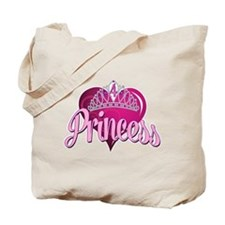 Princess 4th Birthday Tote Bag