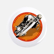 """Road Hugger Motorcycle 3.5"""" Button"""