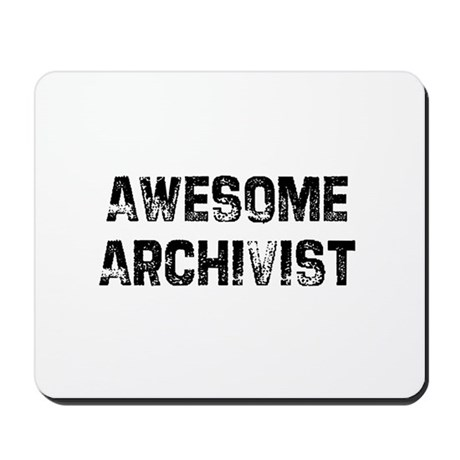 Awesome Archivist Mousepad