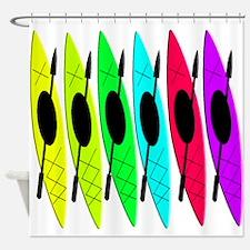 kayak shower curtain Shower Curtain