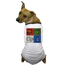 Four Elements square Dog T-Shirt