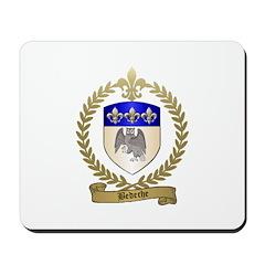 BEDECHE Family Crest Mousepad