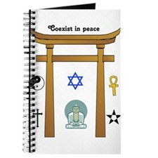 coexist in peace Journal