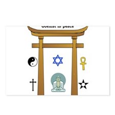 coexist in peace Postcards (Package of 8)