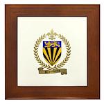 BEAUCHAMP Family Crest Framed Tile