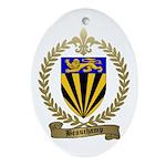 BEAUCHAMP Family Crest Oval Ornament