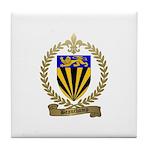 BEAUCHAMP Family Crest Tile Coaster