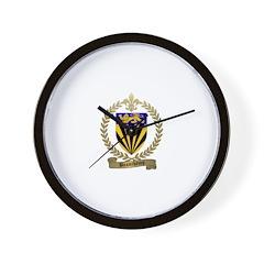 BEAUCHAMP Family Crest Wall Clock