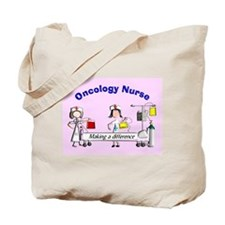 Oncology Nurse making a diff BLANKET Tote Bag