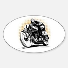 Classic Cafe Racer Decal