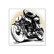 Classic Cafe Racer Sticker