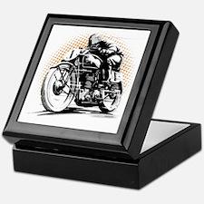 Classic Cafe Racer Keepsake Box