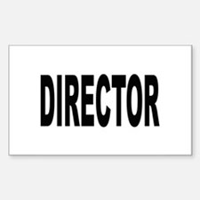 Director Rectangle Decal