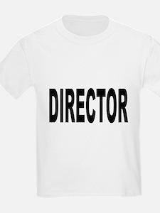 Director (Front) Kids T-Shirt