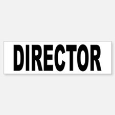 Director Bumper Car Car Sticker
