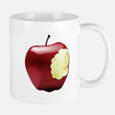 Think Different Apple bitten Mugs