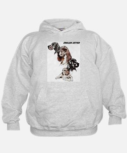English Setter Hoodie