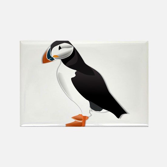Atlantic Puffin Look forward to love Magnets