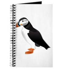Atlantic Puffin Look forward to love Journal