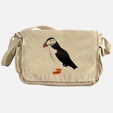 Atlantic Puffin Look forward to love Messenger Bag