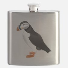 Atlantic Puffin Look forward to love Flask