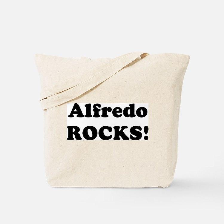 Alfredo Rocks! Tote Bag