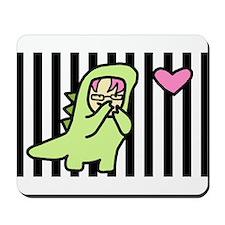 RYOUKO*SAURUS Stripedy! Kawaii Dinosaur Mousepad