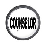 Counselor Wall Clock