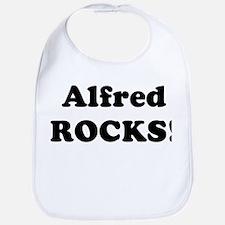 Alfred Rocks! Bib