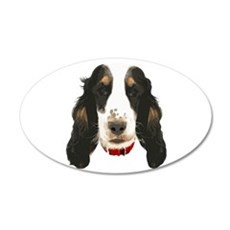 English CockerSpaniel_face002 Wall Decal