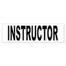 Instructor Bumper Bumper Sticker