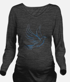dove2.png Long Sleeve Maternity T-Shirt
