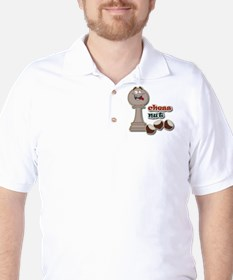 Chess Pawn, Chess Nut and Chestnuts T-Shirt