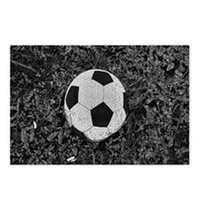Soccer Ball in The Grass Postcards (Package of 8)
