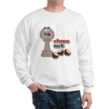 Chess Pawn, Chess Nut and Chestnuts Sweatshirt