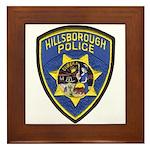 Hillsborough Police Framed Tile