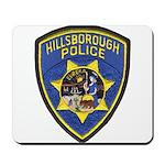 Hillsborough Police Mousepad