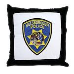 Hillsborough Police Throw Pillow