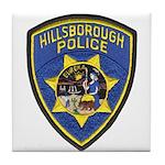 Hillsborough Police Tile Coaster
