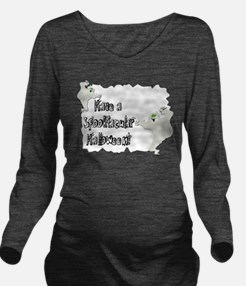 ghosts2.png Long Sleeve Maternity T-Shirt