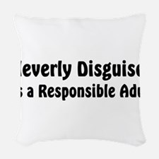 disguised2.png Woven Throw Pillow