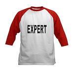 Expert (Front) Kids Baseball Jersey