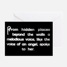 """Voice of an Angel"" Greeting Cards (Pk of 10)"