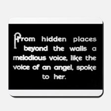 """""""Voice of an Angel"""" Mousepad"""